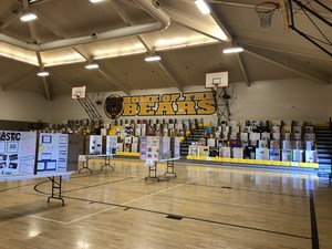 Science Projects on Display in Sylvandale Gym