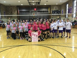 Faculty-Student Volleyball Game