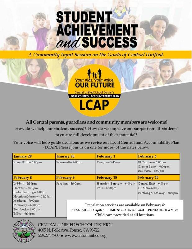 LCAP Meetings
