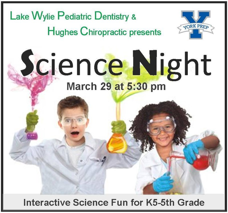 Science Night on March 29th at 5:30 pm Featured Photo