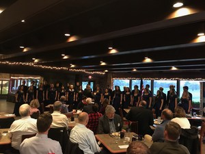 Singers perform at Rotary Club