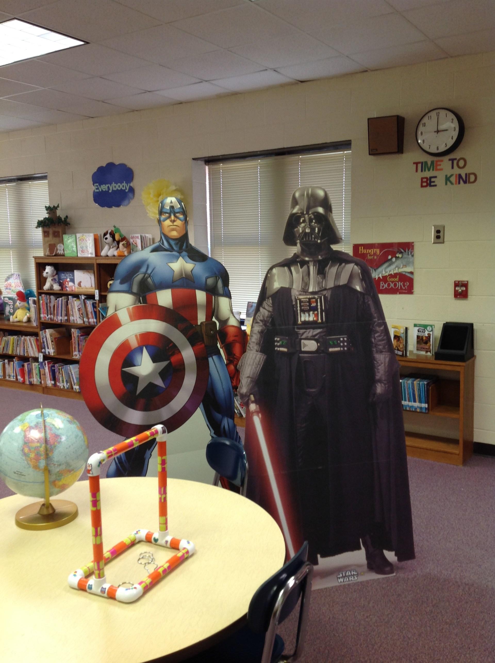 Captain America & Darth Vader!