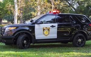 Sacramento Police SUV
