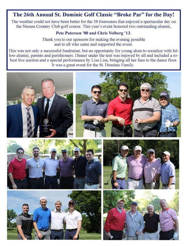 The 26th Annual St. Dominic Golf Classic Featured Photo