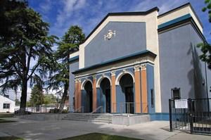 Exeter Union High School Auditorium Exterior