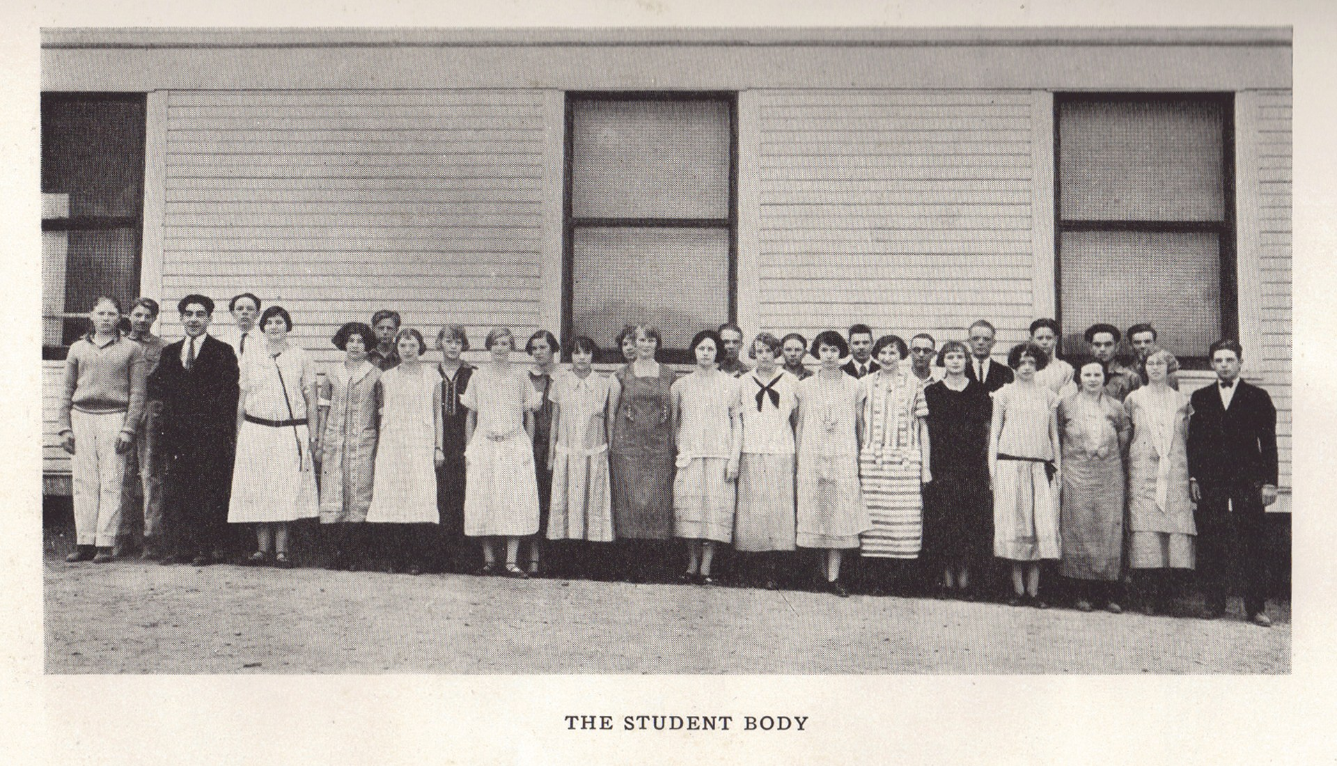 First Student Body 1929