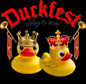 Duck with Crown