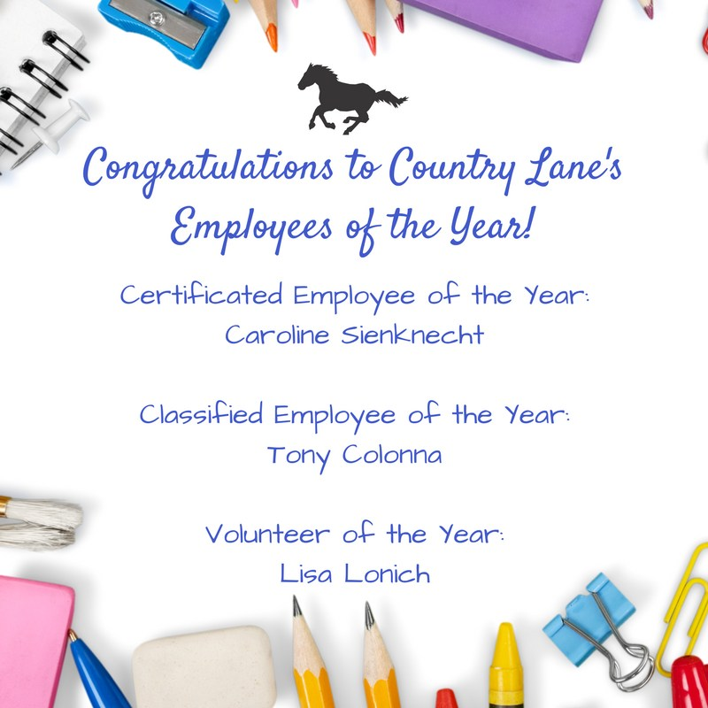 Congratulations to our Employees and Volunteers of the Year! Thumbnail Image