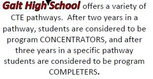 Galt High School Concentrator