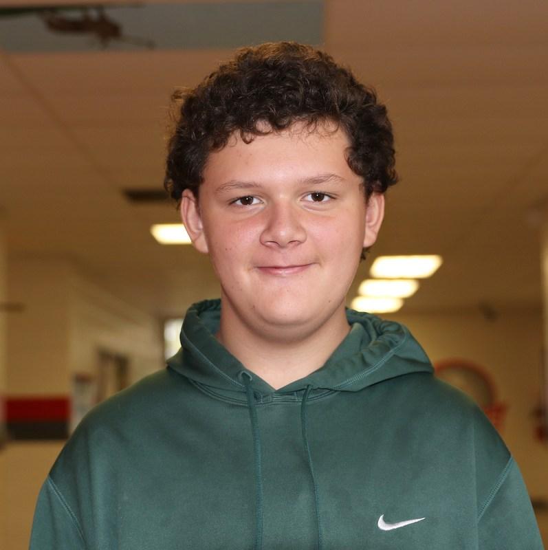 Pedro Artega - High School Student of the Month Thumbnail Image