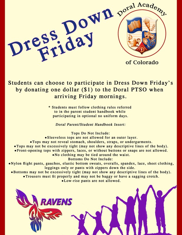 Friday Dress Down Day Option Thumbnail Image