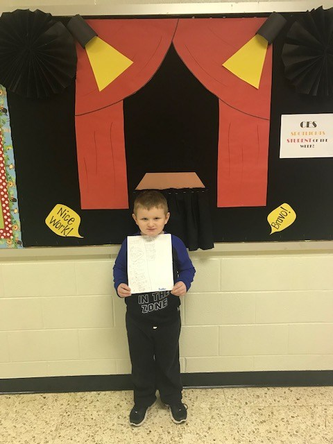 CES Student of the Week Featured Photo