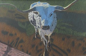 Cheyenne Migl was awarded $20,000 from the Houston Livestock Show and Rodeo Art Scholarship for her artwork