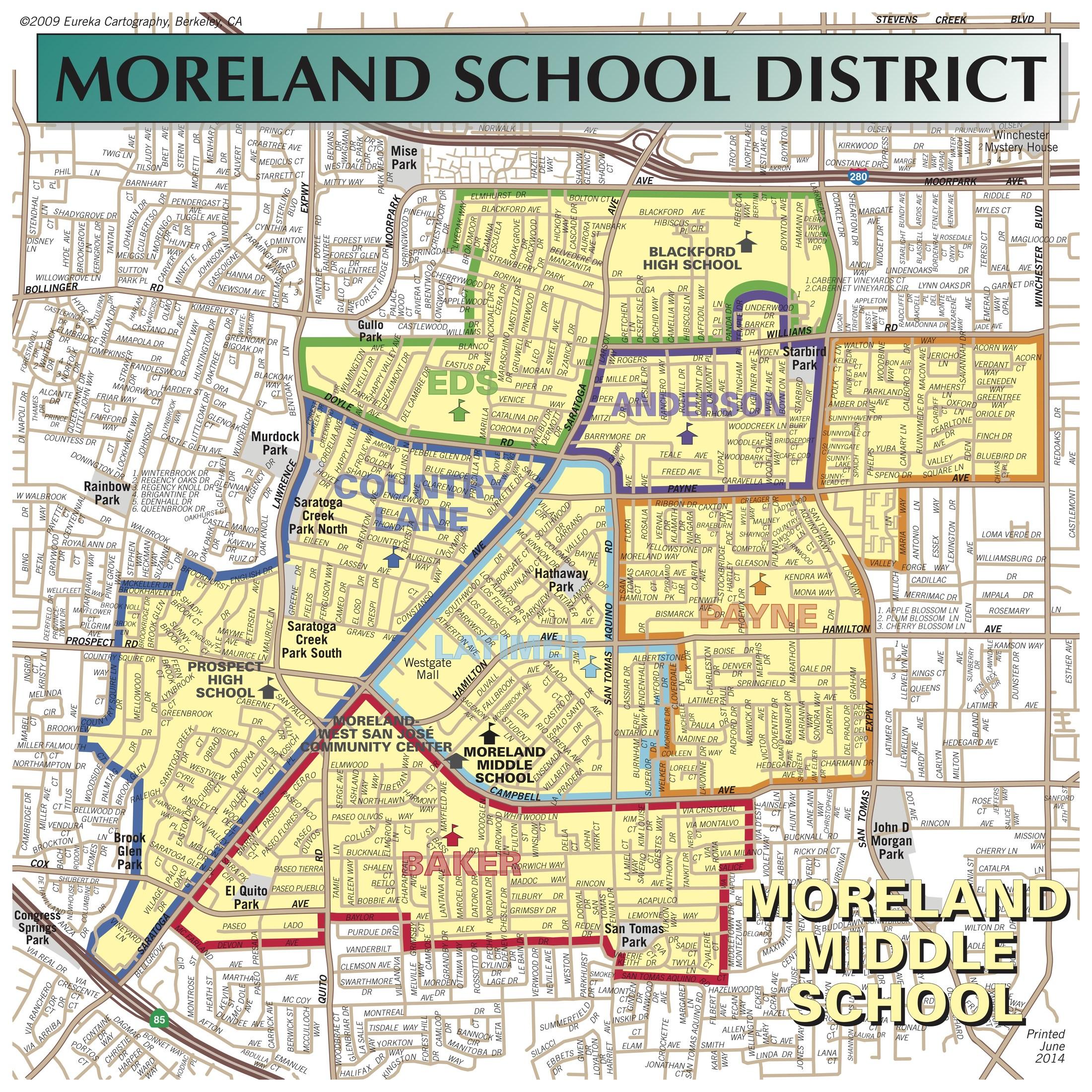 School District Map District Boundaries – About Us – Moreland School District School District Map