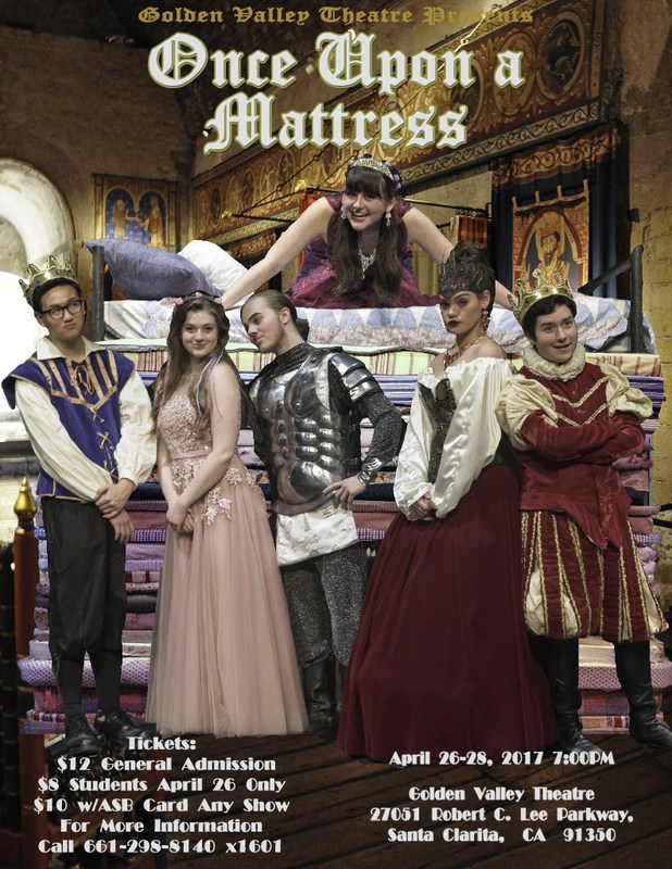 Gv Theatre Presents: Once Upon A Mattress