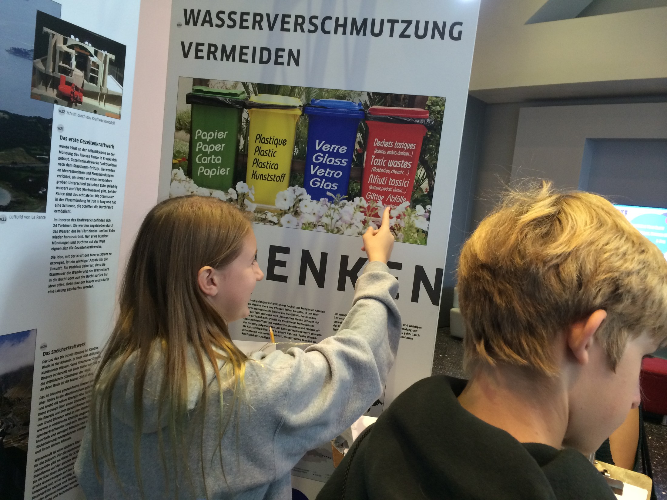 TMS students at the Goethe Institute