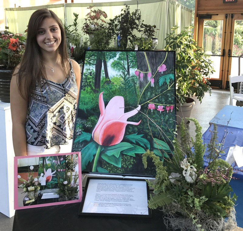 Alaina Kurish shows artwork