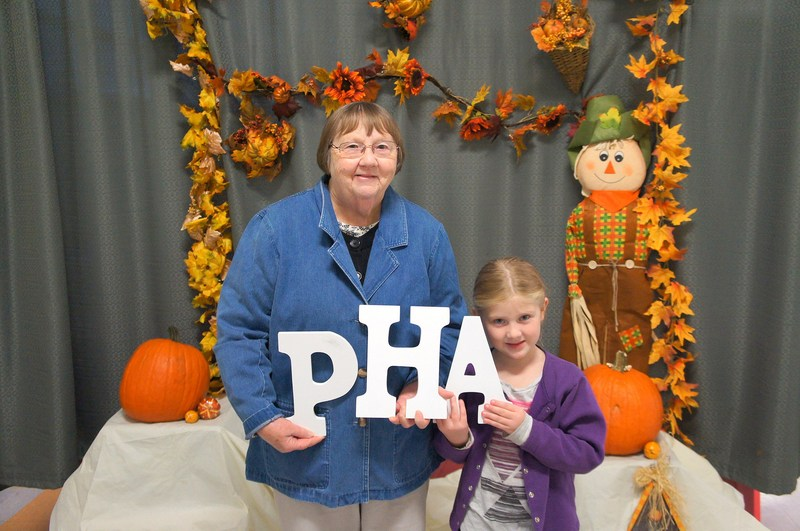 A PHA Family at Fall Festival