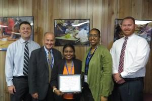 October's Teacher of the Month- Mrs. Christina Samraj