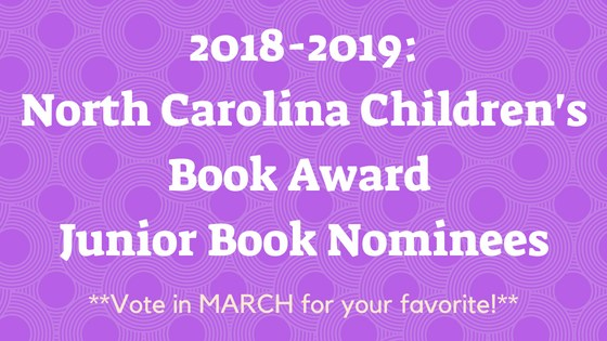 2018-2019 Junior Book Nominees