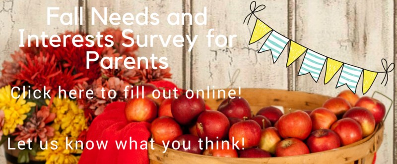 Parent Needs and Interests Survey Now Available ONLINE! Thumbnail Image