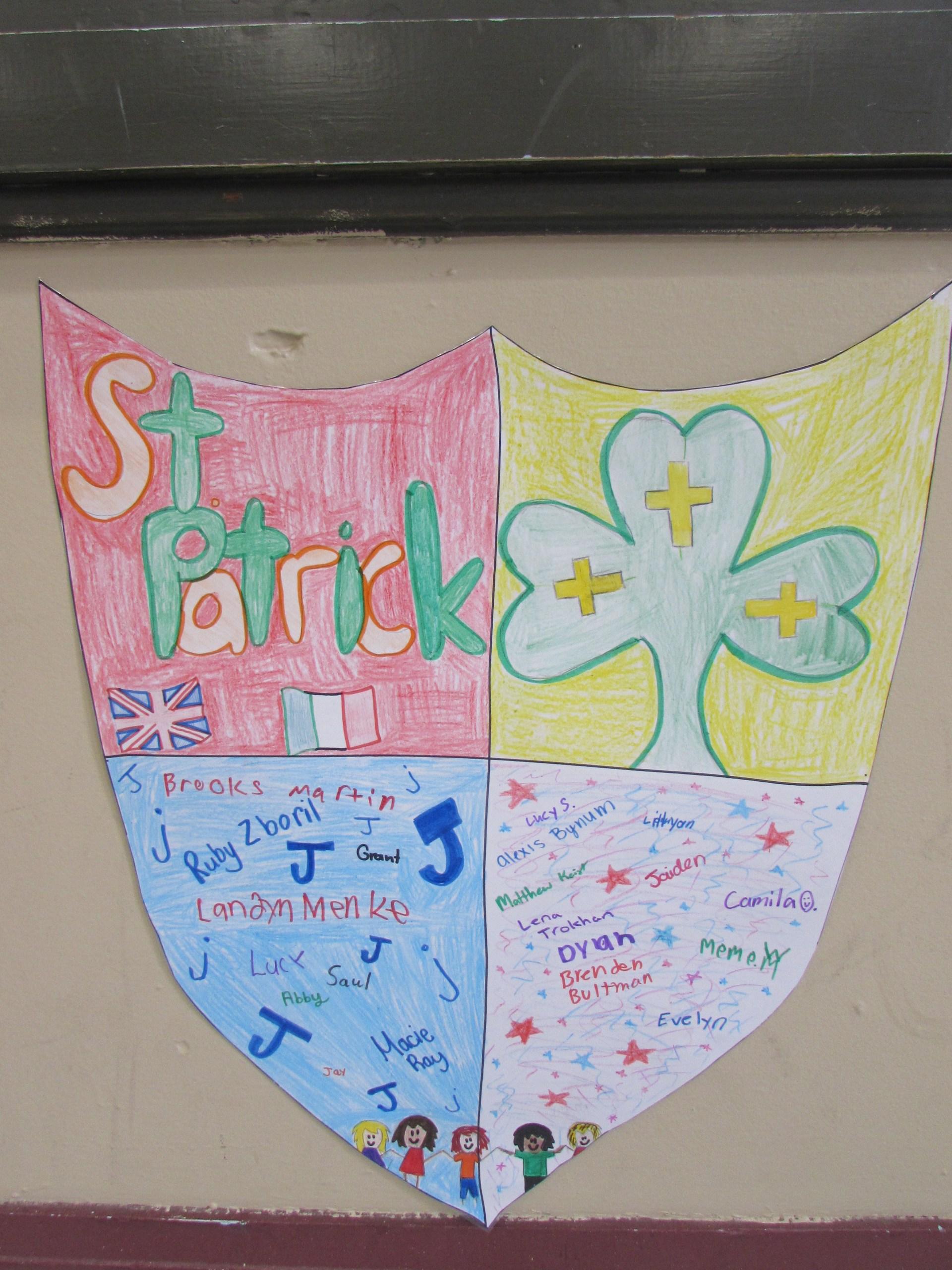 St. Patrick Crest