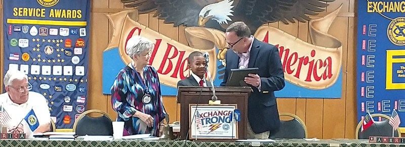 Lamar Reese 5th grader wins Exchange Club's Young Citizenship Award Thumbnail Image