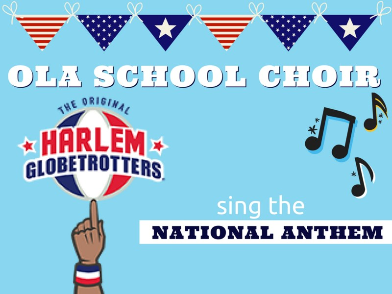 OLA Choir Sings the National Anthem! Thumbnail Image