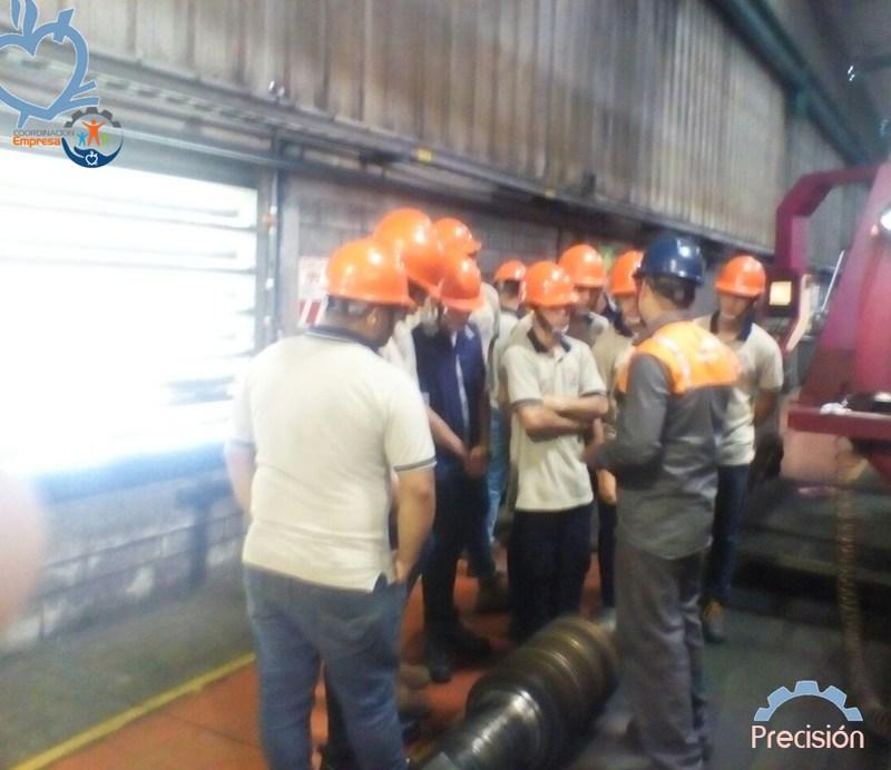 Los alumnos de Mecánica de Precisión visitan la empresa ArcelorMittal Featured Photo
