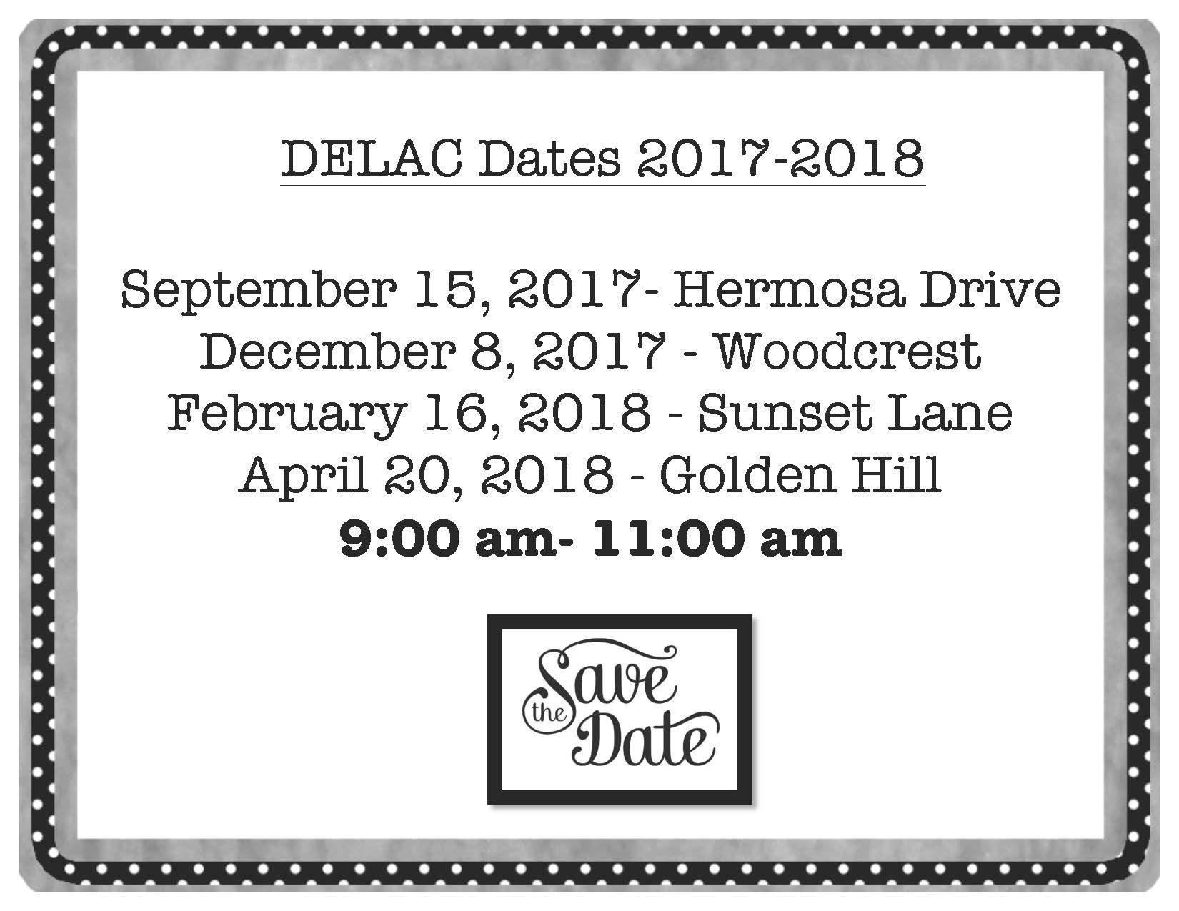 DELAC flyer