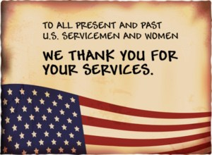 Thank You servicepeople