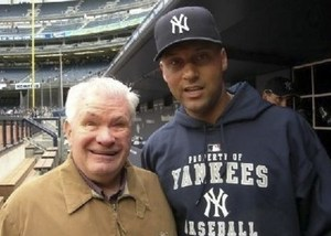 Ed with Derek Jeter