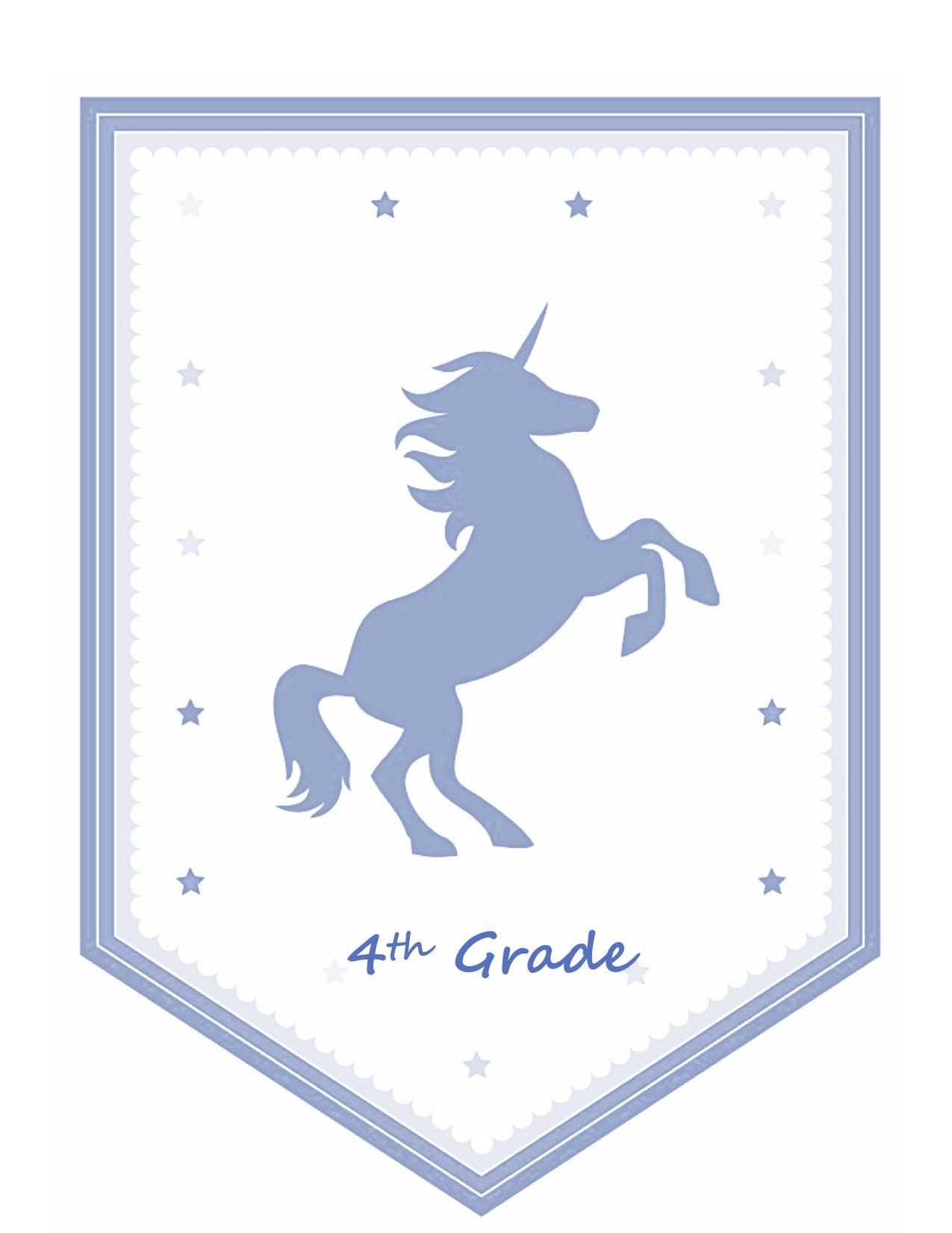 Fourth Grade Unicorn