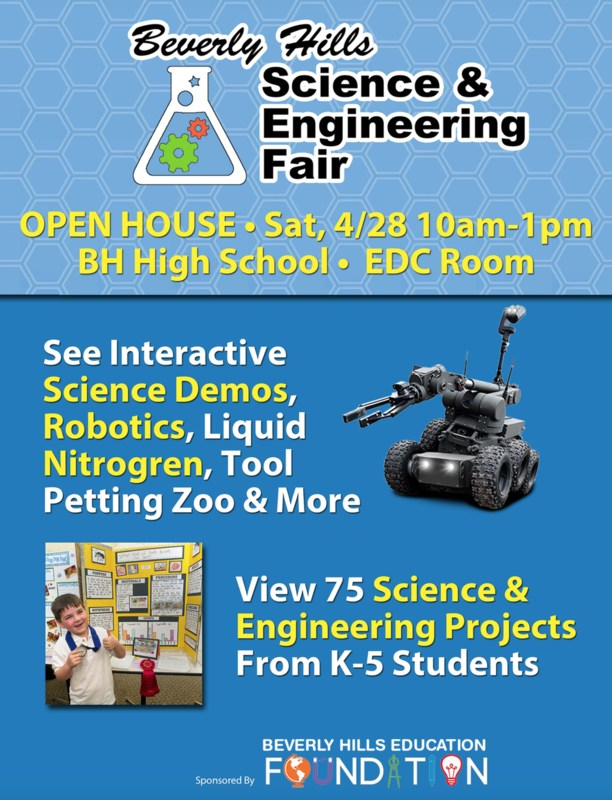 K-5 Science Fair Flyer