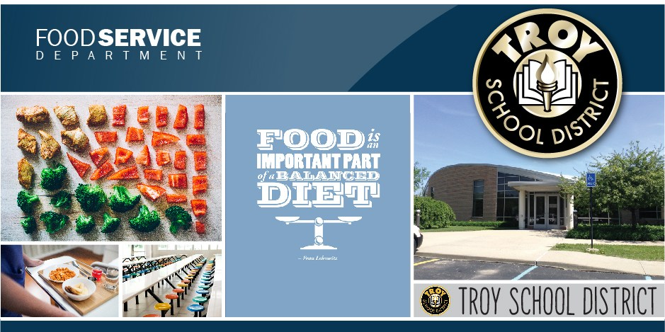 Food Service main page banner.  This is a page design element.