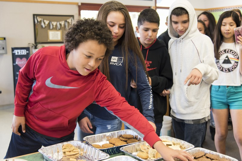 Middle School Rivalry Forgotten in Aftermath of Fire - Pomolita Rallies Around Eagle Peak with Cookies and Caring Thumbnail Image