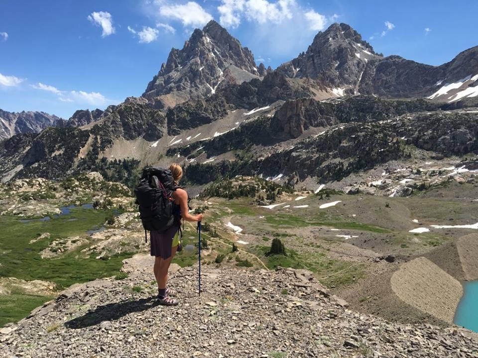 Backpack trip in Grand Tetons