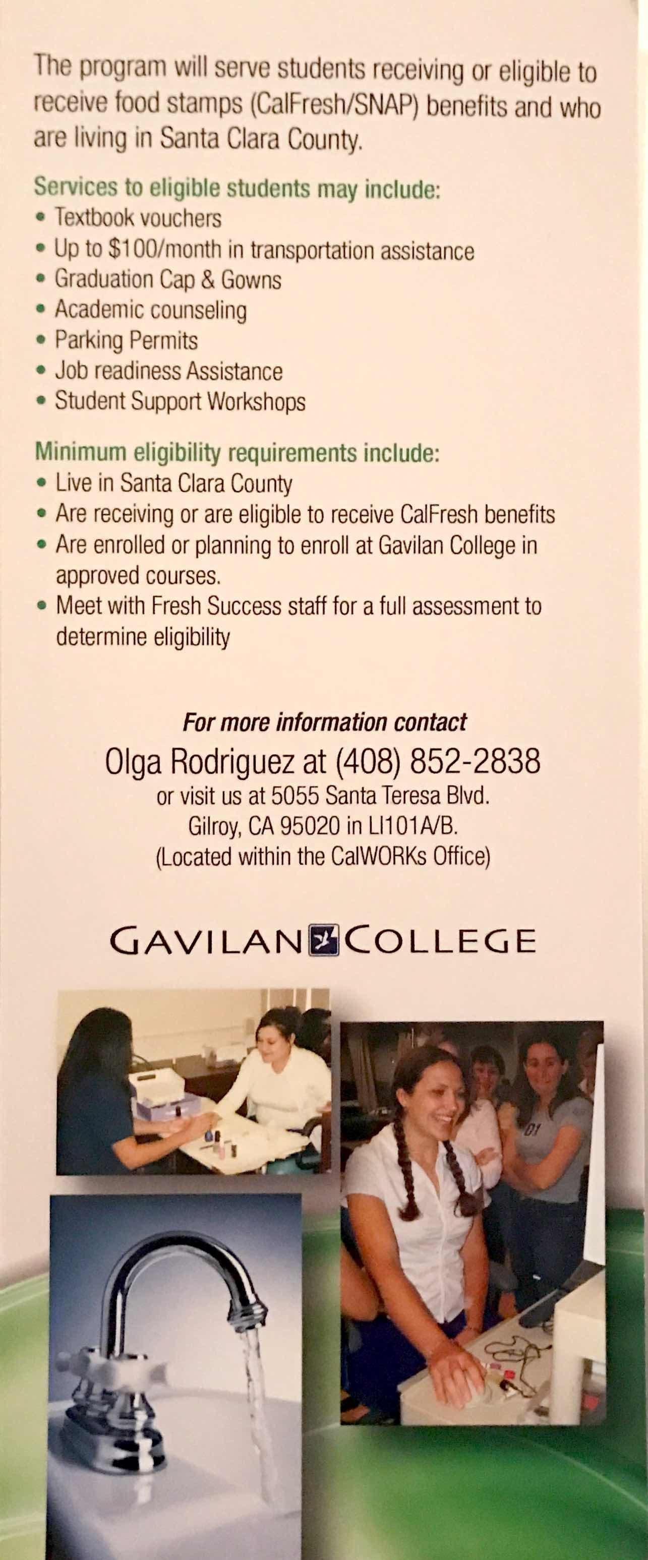 Gavilan College Brochure