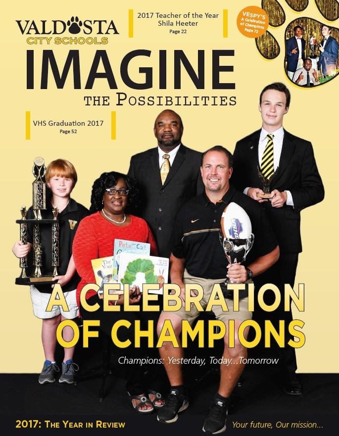2017 Imagine the Possibilities Magazine Cover