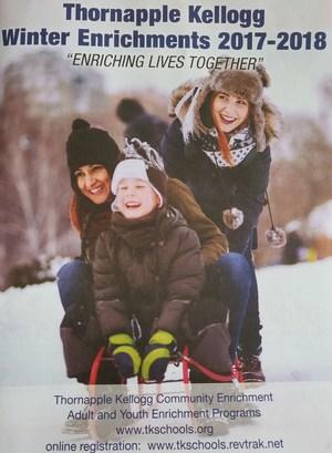 TK Community Enrichment brochure.