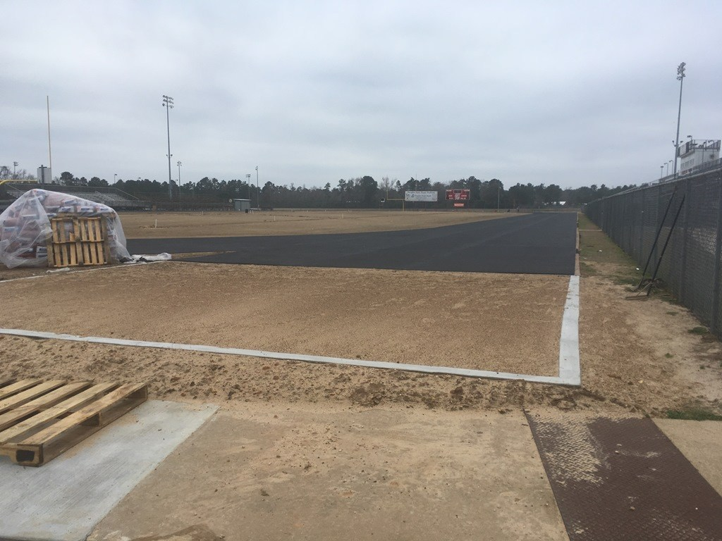 Track construction - field
