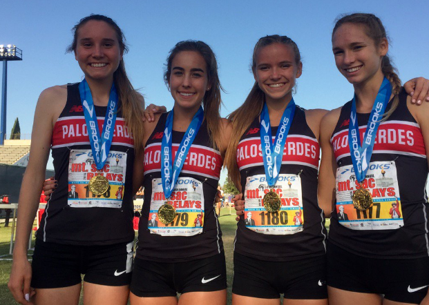 PVHS Girls' Cross Country champions