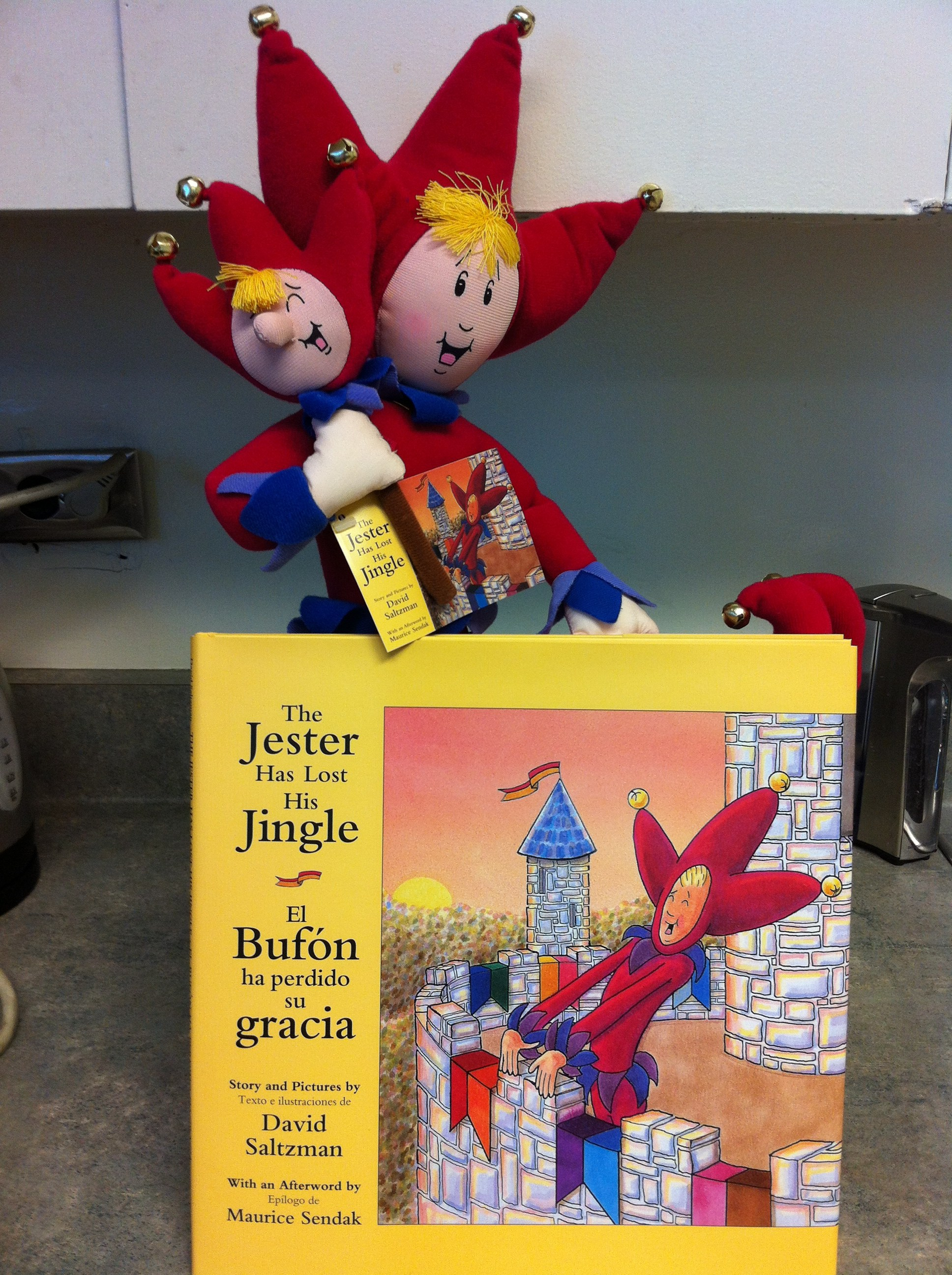 Jester and Pharley books and dolls