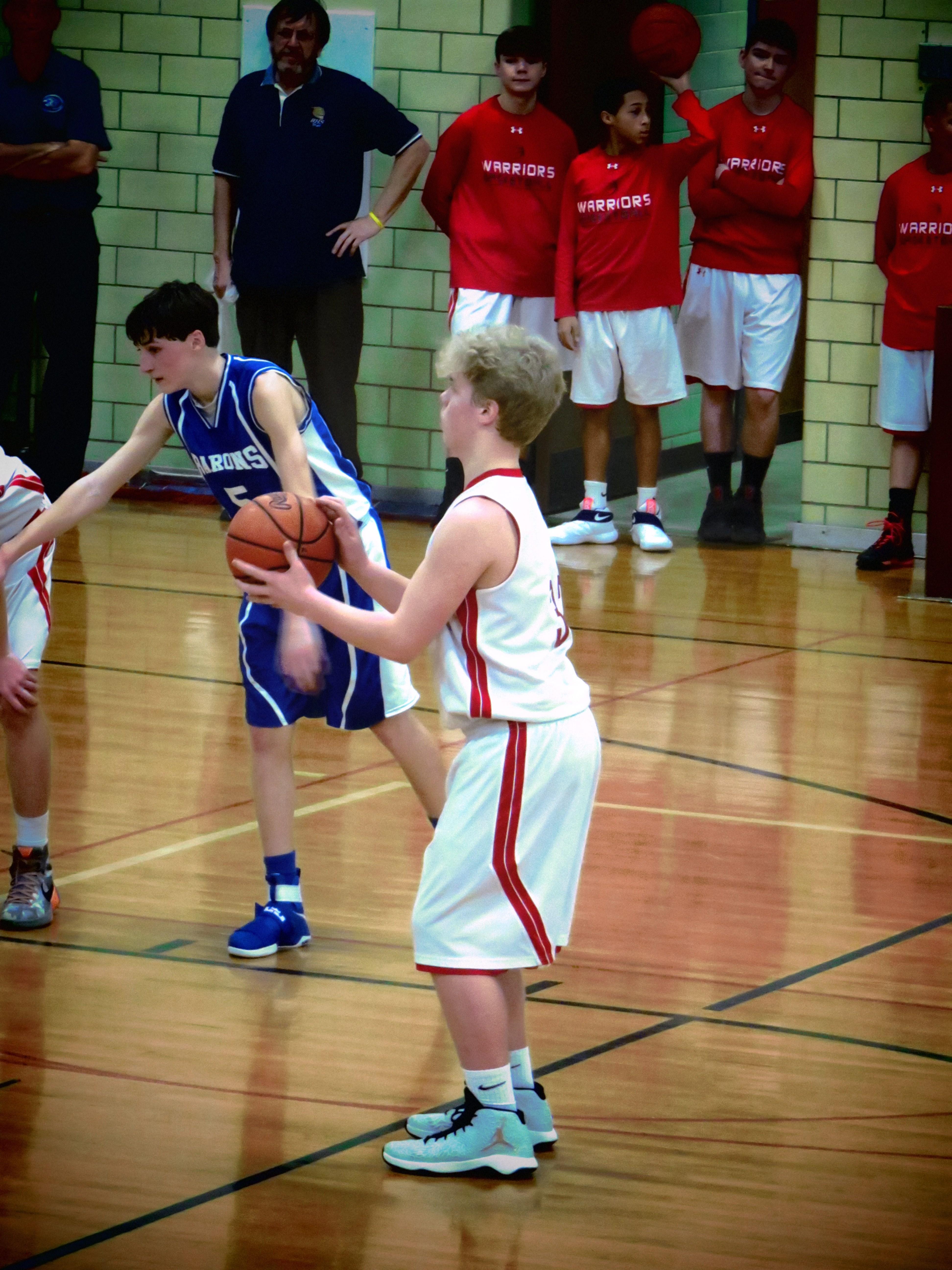 8th grader Ashton Harris