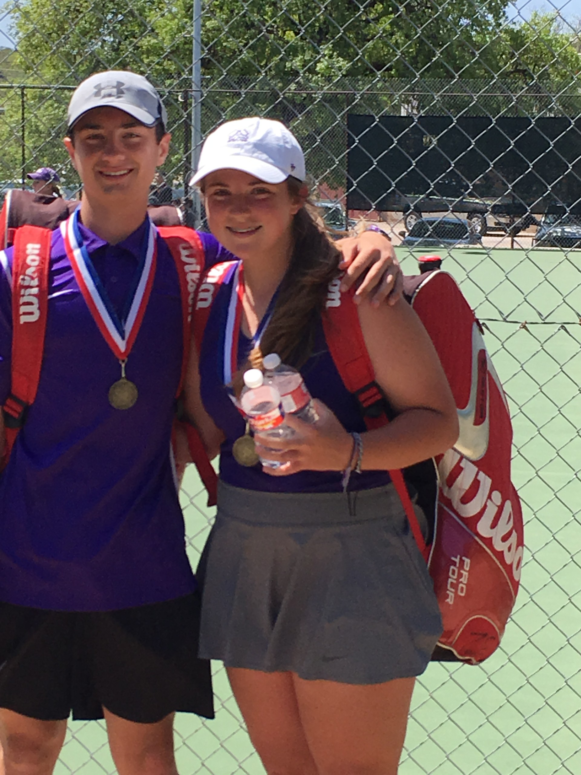 Ty Spencer & Parker Standard - JV Mixed Doubles Champs