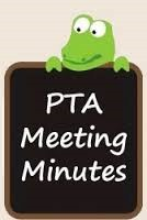 PTA Meeting Minutes
