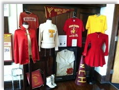 NCH Historical Society Clothing Display