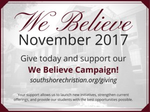 We Believe Campaign