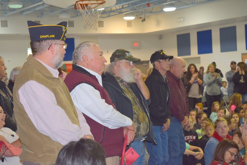 Veterans are honored at PGS