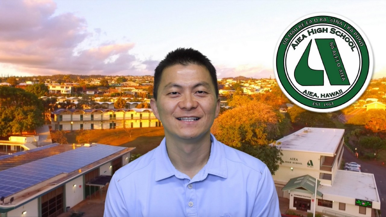 Aiea High School's Milken Awardee Mr. Ken Kang